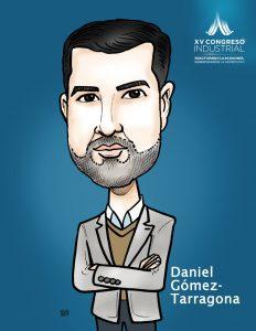 Daniel Gómez-Tarragona Caricatura