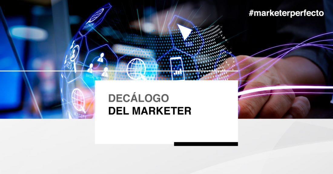 Decálogo del marketer-cabecera