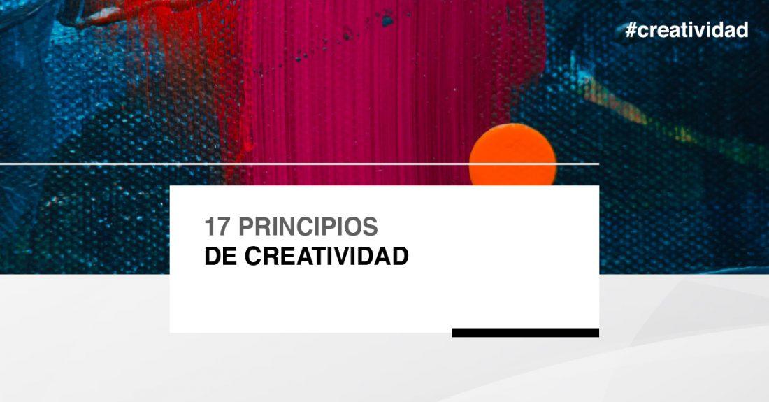 Cabecera - 17 principios de creatividad