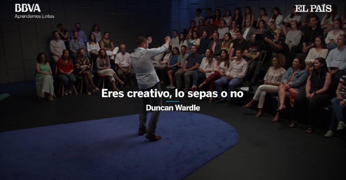 Eres creativo, lo sepas o no