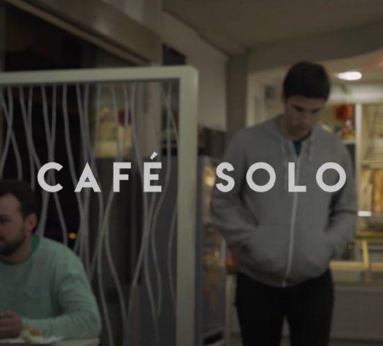 Café solo - cortometraje